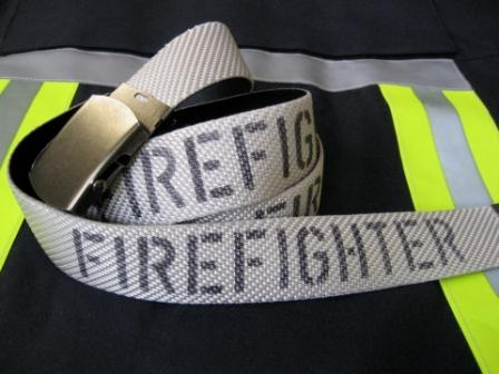 """Gürtel mit Aufdruck """"FIREFIGHTER"""""""